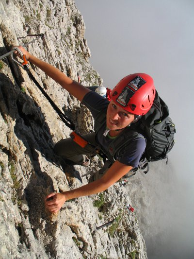 """Extreme"" ferrate in the Dolomites"