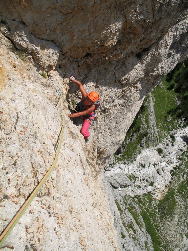 Climbing week Pale di San Martino Group